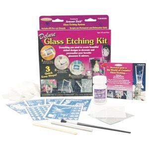 10-0101W - Deluxe Glass Etching Kit
