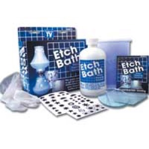 Etch Bath Glass Etching Kit
