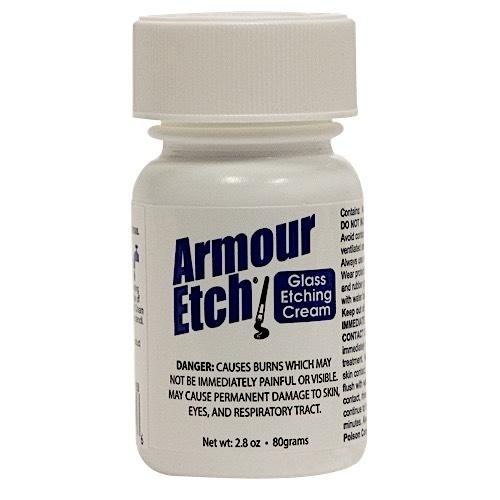 2.8 oz  Armour Etch Glass Etching Cream