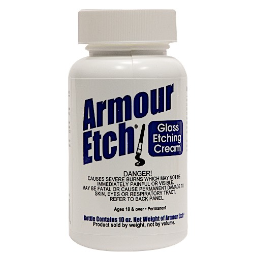 10 oz Armour Etch Glass Etching Cream