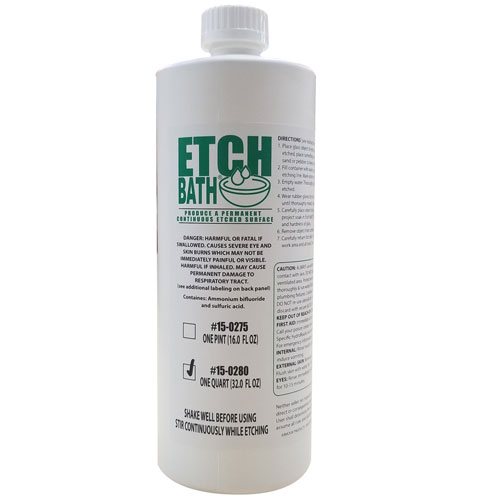15-0280 - 32 oz Etch Bath Dipping Solution