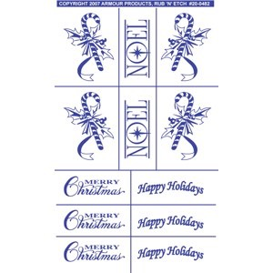 20-0482 - NOEL - Holiday Stencils