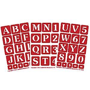 ONO alphabet 1 inch 3 pak