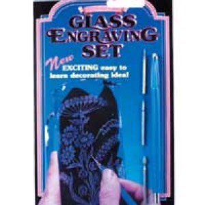 26-0800 - Glass engraving set