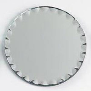 Scalloped 6 in. Round