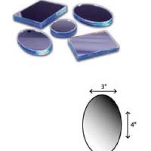 "Oval Mirror-3""x4"""