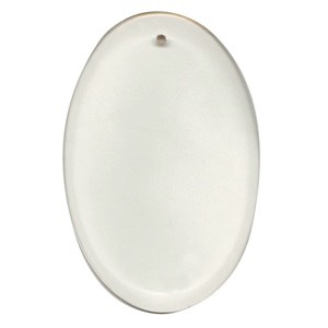 "Clear-4""x6"" Oval Thick Bevel"