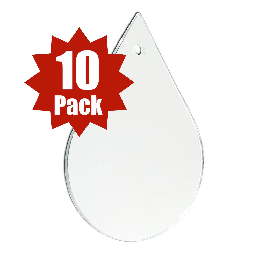 29-2502-10 - Teardrop Shape - (10 Pack)