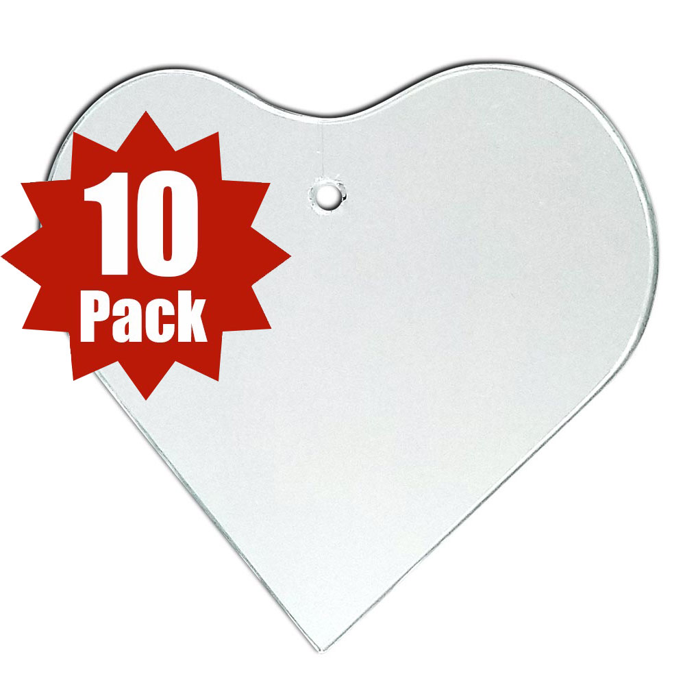29-2504-10 - Heart Shape (10 Pack)