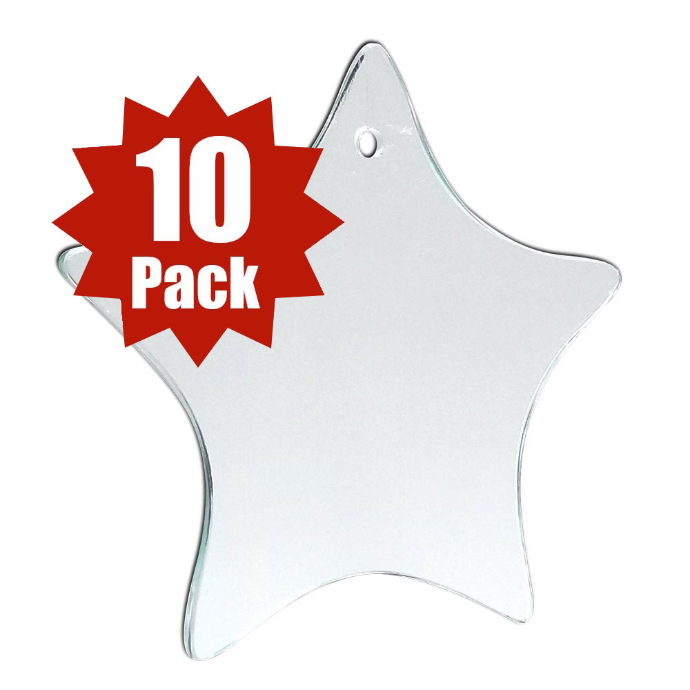 29-2505-10 - Star Glass Shape (10 Pack)