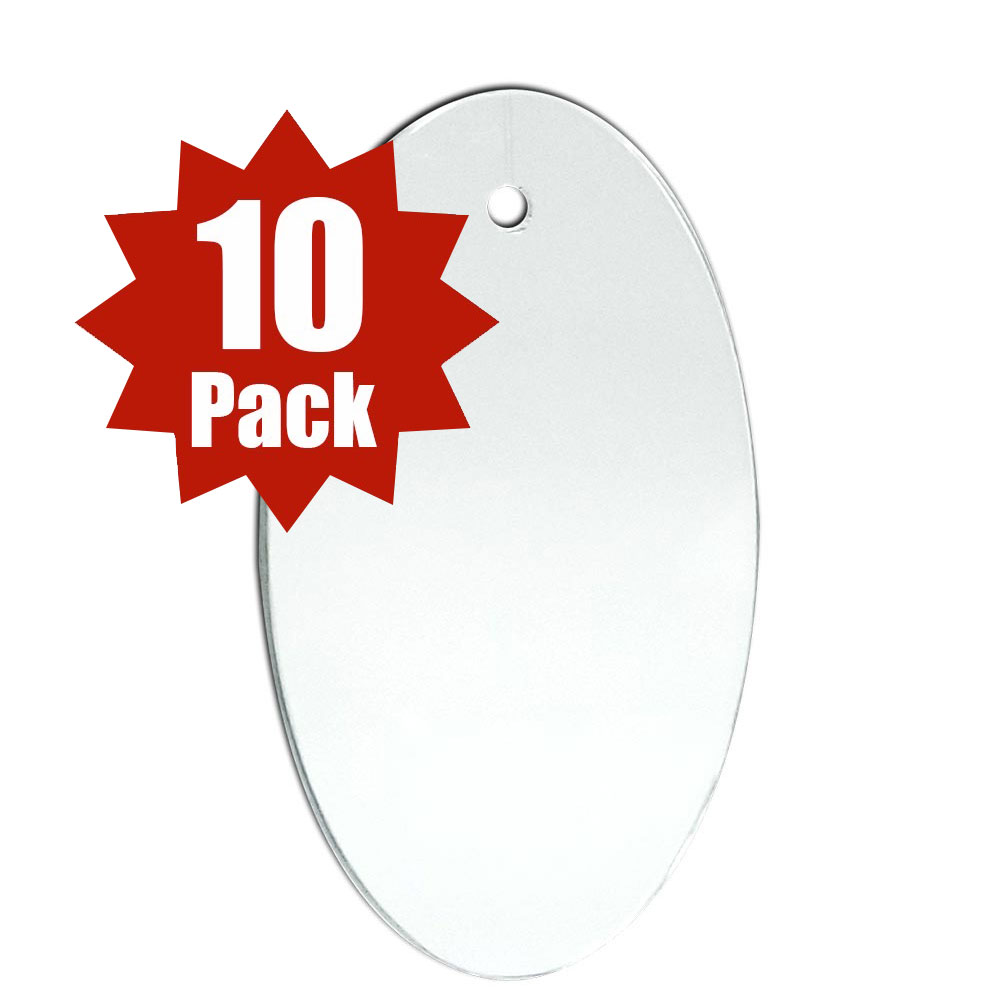 29-2506-10 - Oval Shape (10 Pack)