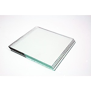 29-2519 - Clear Glass -Square- No Holes