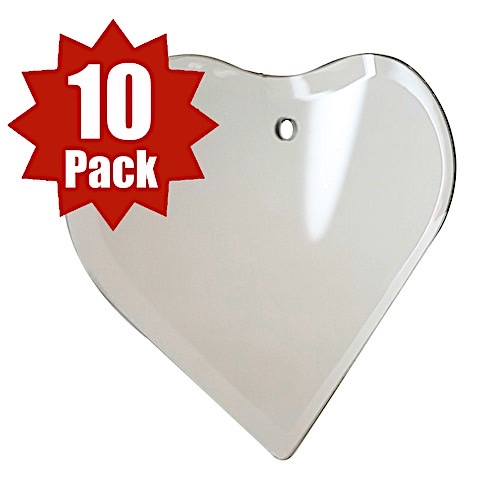 29-2606-12 - 12 pk Thin Bevel Heart