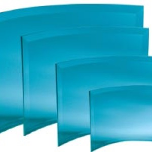 30-2312 - Bent Bevel Plaque- 6x8
