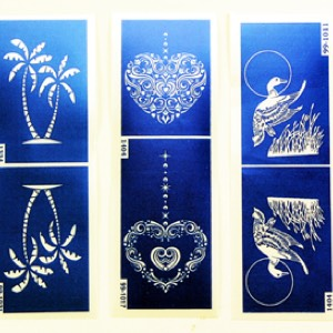50-0541 - Closeout Stencil  Assortment 2