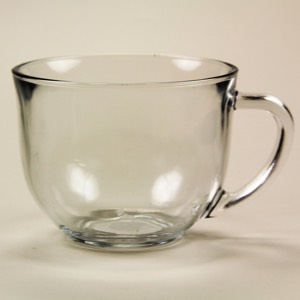Clear Soup Mug 18 oz