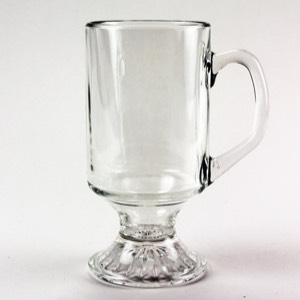 Clear Coffee Mug 8  oz