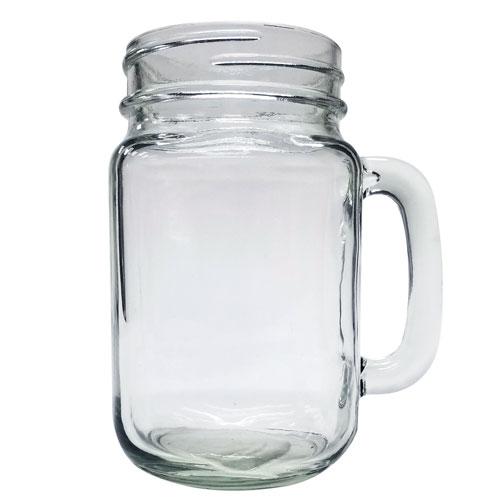 Mason Jar Mug 16 oz  Set of 2 pcs