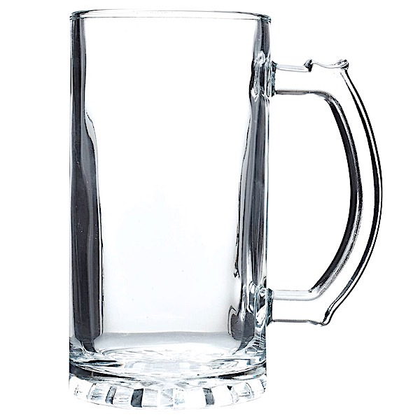 Glass Mug 27.25 oz  Set of 2 pcs