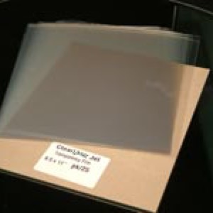 Laser & Photocopier stencil material 6 sheets