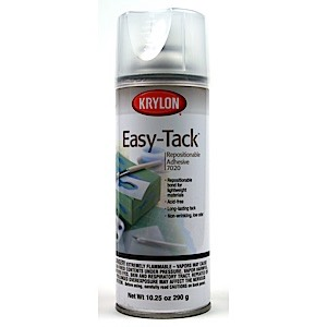 61-2731 - Easy-Tack Repositional Spray Adhesive-10.25 oz