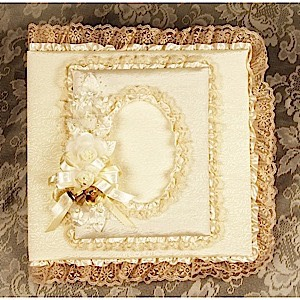 61-2802 - Ivory Wedding Album