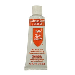 Rub N Buff Metallic Wax...WHITE