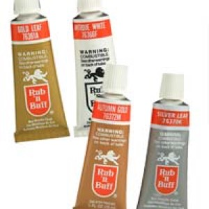 61-3329 - Rub N Buff Metallic Wax- 4 pak