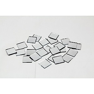 "Square Mirrors 1""  25 pcs"