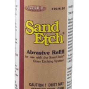 12oz Sand Etch Abrasive Refill (Additional FREE 8oz jar)