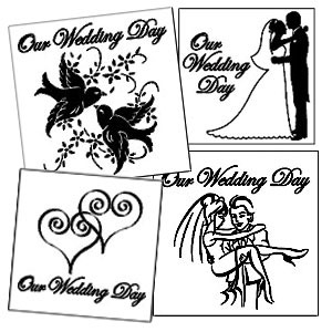 Limited Time Wedding  Etchable Square Coaster