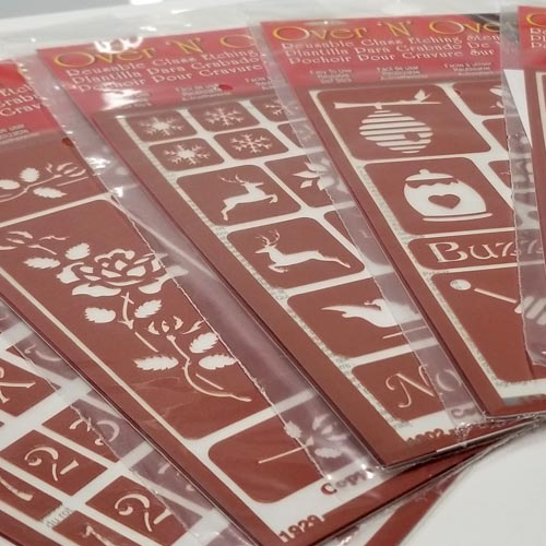 Glass Etching Stencils